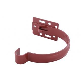 Держатель желоба Profil металл. малый 90 мм красный