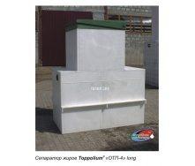 Сепаратор жира ТОПОЛ-ЭКО ТОПОЛИУМ ОТП-4 Long 1985x1140x2240 мм