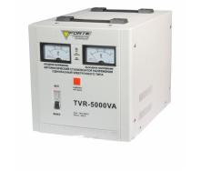 Стабилизатор напряжения Forte TVR-5000VA релейный напольный