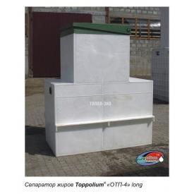 Сепаратор жиру ТОПОЛ-ЕКО ТОПОЛИУМ ОТП-4 Long 1985x1140x2240 мм