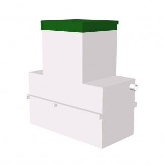 Сепаратор жира ТОПОЛ-ЭКО ТОПОЛИУМ ОТП-3 Long 1725x1050x2040 мм