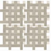 Мозаїка Zeus Ceramica Marmo Acero Bianco (mmcxma18)