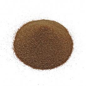 Кварцевый песок 2-3 мм коричневый