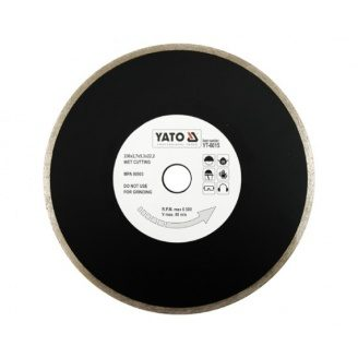 Круг відрізний алмазний для мокрого різання УАТО 230x5,3x22,2 мм 2,7 мм