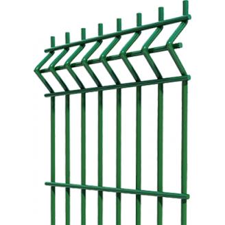 Паркан з сітки Еко Колор 2,5х2,03 м зелений