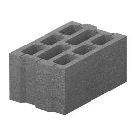 Блок бетонний Золотий Мандарин М-75 40.25.20 396х250х190 мм