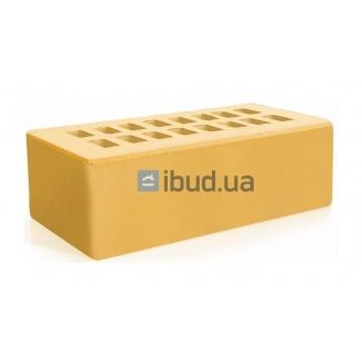 Цегла лицьова Євротон англійська формат 215х105х65 мм жовтий