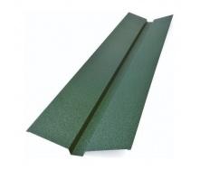 Накладка жолоба декоративна Тайл 105х20х40х20х105 мм зелена