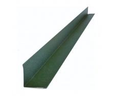 Внутрішній кутник Тайл 94х94 мм зелений