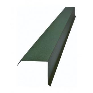 Торцева планка Тайл тип 2 30х100х140х20 мм зелена