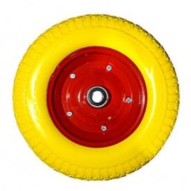 Колесо на тачку 4.00-8 піна на вісь 16 мм