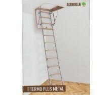 Чердачная лестница Altavilla  Termo Plus Metal 3s 120х70 см c крышкой 46 мм