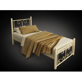 Односпальне ліжко Нарцис-міні Tenero 900х2000 мм на дерев'яних ніжках