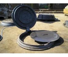 Крышка важкого люка телефонной сети чугунная 660  мм (к111) (IMPA542)