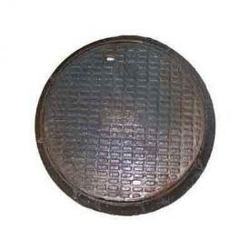 Люк чавунний каналізаційний середній С-Б з замком 12,5 т (2.03.2) (IMPA536)