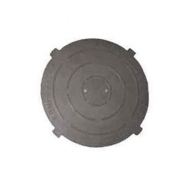Крышка важкого полимерпесчаного люка (С250) черная (к209.1) (IMPA553)
