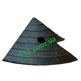 Пандус куточок гумовий Імпекс-Груп 120х195х200 мм (IMPA328)