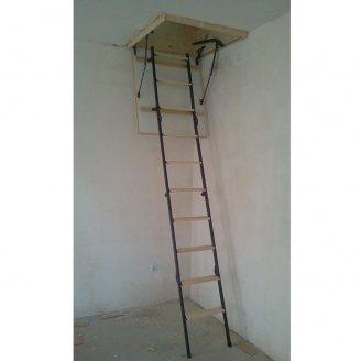 Изготовление складной чердачной лестницы под заказ
