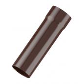 Труба водосточная Fitt 125 3 м коричневый
