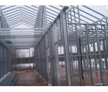 Будівництво складського приміщення по ЛСТК технології під ключ