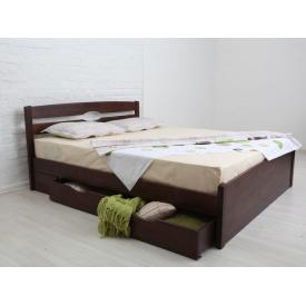 Кровать деревянная Нова с 4 ящиками ТМ Олимп