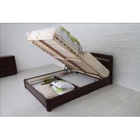 Ліжко дерев'яна Нова з підйомним механізмом ТМ Олімп