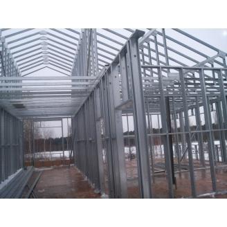 Строительство складского помещения по ЛСТК технологии под ключ