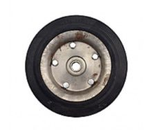 Колесо на тележки 250/60-130 ось 20 мм 2 подшипника