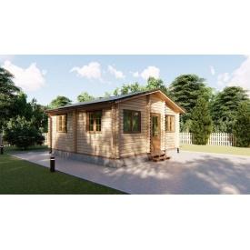 Будівництво садового будинку з профільованого бруса 5,6х6 м
