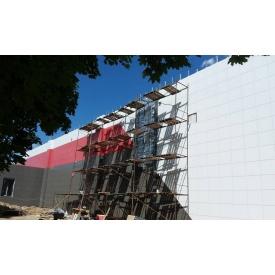 Облицювання фасаду керамогранітом