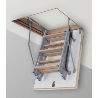 Чердачная лестница Altavilla Termo Plus Metal 4s 90x80 крышка 46 мм