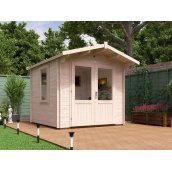 Садовий будиночок з профільованого бруса 2.5х2.5 м