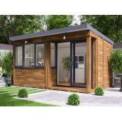Садовий будиночок з профільованого бруса 4.5х2.5 м