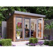 Садовий будиночок з профільованого бруса 3.5х2.5 м