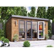 Садовий будиночок з профільованого бруса 4.5х3.5 м