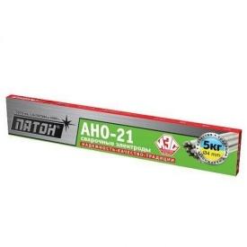 Электроды сварочные АНО-21 4,0 мм ПАТОН 5 кг