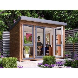 Домик садовый из профилированного бруса 3.5х2.5 м