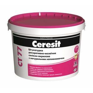 Штукатурка декоративно-мозаичная Ceresit CT 77 силикон-акриловая 1,4-2,0 мм 14 кг CHILE 2