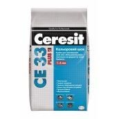 Затирка для швів Ceresit CE 33 plus 2 кг 110 світло-сірий