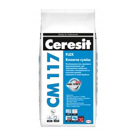 Клеящая смесь Ceresit CM 117 Flex 5 кг
