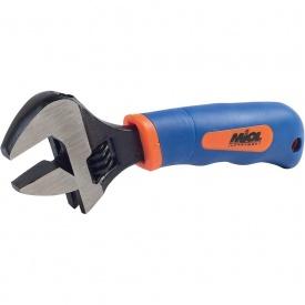 Ключ розвідний Miol 54-030 двокомпонентна рукоятка 150 мм 0-20 мм