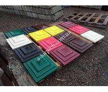 Крышки на забор LAND BRICK Токио цветные