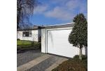Секционные гаражные ворота ALUTECH TREND M-гофр 2500х2000 мм RAL9016 белый