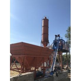 Бетонный завод Монолит АБСУ-20 скип/конвейер 20 м3/час