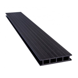 Террасная доска PERWOOD Home 2019 28х147х4000 мм эбонит