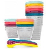Набір контейнерів для їжі Babymoov Babybols Multi Set 15 предметів (A004310)