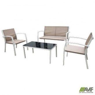 Комплект меблів АМФ Camaron темно-сірий/сірий