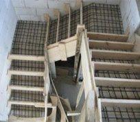 Армирование бетонной лестницы арматурой