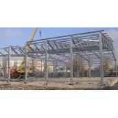 Будівництво магазину з металоконструкцій