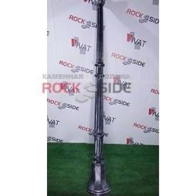 Фонарный столб Rock Side №1 197 см под старину светлый
